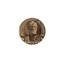 General William T Sherman 1895 US Stam Mini Button