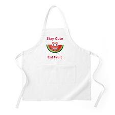 Stay Cute Eat Fruit Watermelon Apron