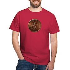 Anubis Heathen Cent T-Shirt