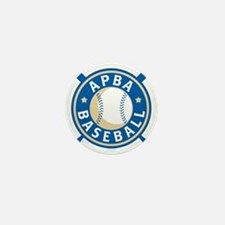 New APBA Baseball Logo Mini Button