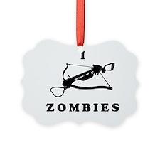 I Crossbow Zombies T-Shirt Ornament