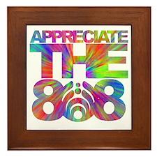 Appreciate the 808 Framed Tile