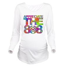 Appreciate the 808 Long Sleeve Maternity T-Shirt