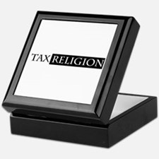 tax religion Keepsake Box