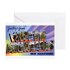 White Mountains New Hampshire Greeting Cards (Pack