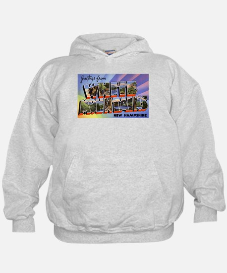 White Mountains NH (Front) Hoody