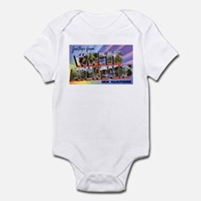 White Mountains New Hampshire Infant Bodysuit