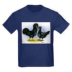 Crevecoeur Chickens Kids Dark T-Shirt