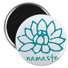 Namaste Lotus Magnet