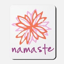 Namaste Flower Mousepad