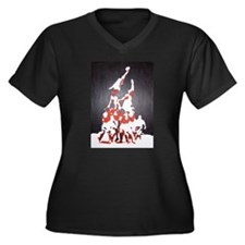 Women's Plus Size Rugby Lineout T-Shirt