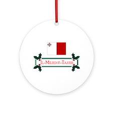 Malta Il-Milied it-Tajjeb Keepsake Ornament