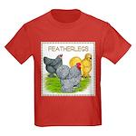 Feather-leg Trio Kids Dark T-Shirt