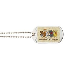 OCD Obsessive Cat Disorder Dog Tags