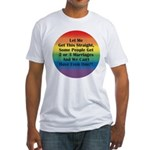 2 or 3 MARRIAGES?! Fitted T-Shirt