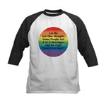 2 or 3 MARRIAGES?! Kids Baseball Jersey