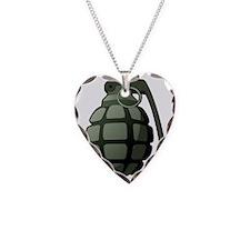 Hand grenade Necklace
