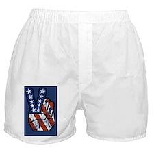 peace_america_sticker Boxer Shorts