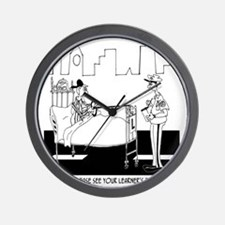 May I See Your Learners Permit? Wall Clock