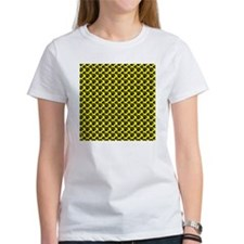 Dog Paws Yellow Puppy Tee