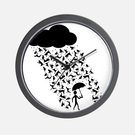 Cats and Dogs Wall Clock