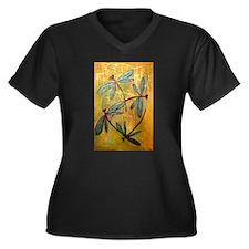 Dragonfly Haze Plus Size T-Shirt