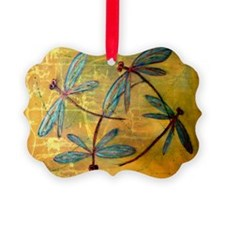 Dragonfly Haze Ornament