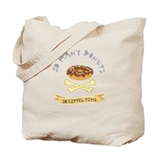 Donut Chocolate Tote Bag