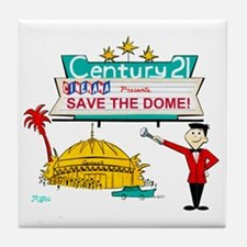 savethedome Tile Coaster