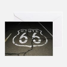 Night Drive Greeting Card