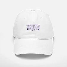 """Marketing Diva"" [purple] Baseball Baseball Cap"