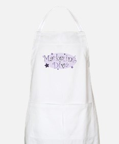 """Marketing Diva"" [purple] BBQ Apron"