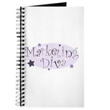 """Marketing Diva"" [purple] Journal"