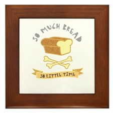 Bread Lover Framed Tile