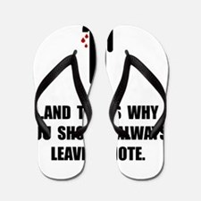 Leave A Note Flip Flops