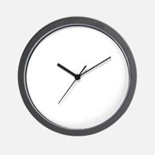 CANT SCARE ME/I WORK IN CUSTOMER SERVIC Wall Clock