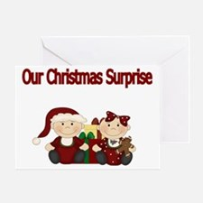 Our Christmas Surprise Greeting Card