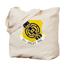 15th Airlift Wing Tote Bag