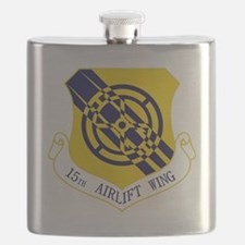 15th Airlift Wing Flask