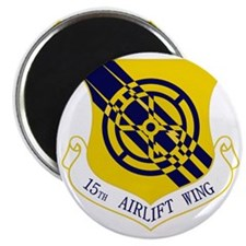 15th Airlift Wing Magnet