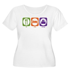 Eat Sleep Manage T-Shirt