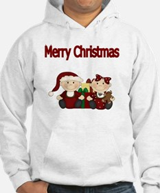 Merry Christmas with Twins Hoodie