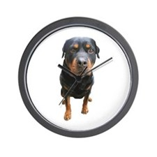 Cute Rotties Wall Clock