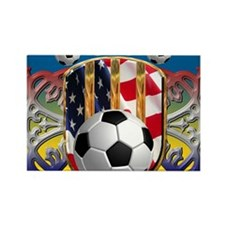 SoccerPower_USA_mpad Rectangle Magnet