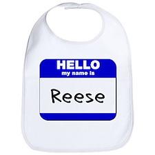 hello my name is reese  Bib