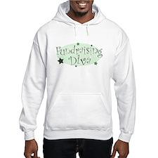 """Fundraising Diva"" [green] Hoodie Sweatshirt"