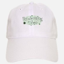 """""""Fundraising Diva"""" [green] Baseball Baseball Cap"""