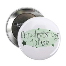 """Fundraising Diva"" [green] Button"