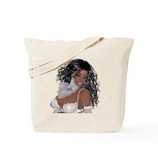 Black girl Tote Bag