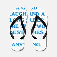 GOOD LAUGH - GOOD SLEEP Flip Flops